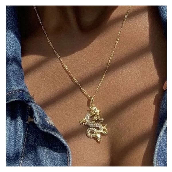 Pendant Dragon Necklace Aysha